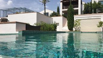 Panoramica desde la piscina