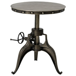 Vintage Industrial Side Tables And End Tables by Marco Polo Imports