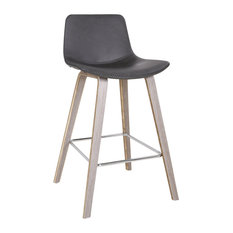 Durant 26'' Counter Stool Set Of 2 Charcoal