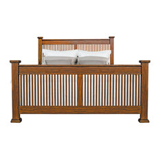A-America Mission Hill Queen Slat Bed