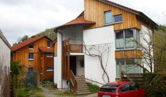 Moderne, hochwertige Holzhäuser