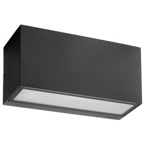 Up and Down G24d-2 Wall Light, Graphite