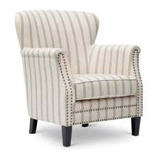Merveilleux Jofran   Accent Chair, Flax   Armchairs And Accent Chairs
