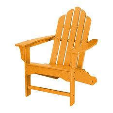 All-Weather Contoured Adirondack Chair, Tangerine