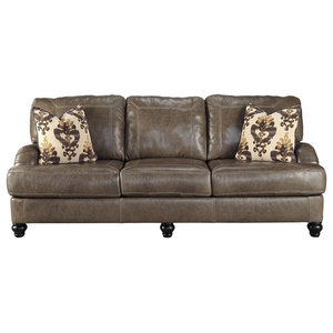 Marvelous Ashley Furniture Corvan Sofa Antique Transitional Sofas Squirreltailoven Fun Painted Chair Ideas Images Squirreltailovenorg