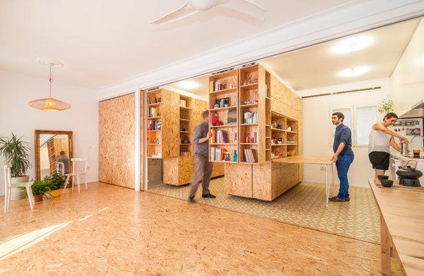 Contemporary Living Room by pkmn Arquitectura