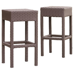 Tropical Outdoor Bar Stools And Counter Stools by GDFStudio