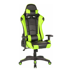Miraculous Modern Gaming Chair Pu Leather Removable Headrest Pillow Forskolin Free Trial Chair Design Images Forskolin Free Trialorg