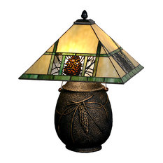"19 5""H Pinecone Ridge Table Lamp"