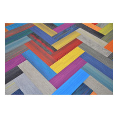 "9""x36"" Assorted Carpet Tiles, 20-Piece Set"