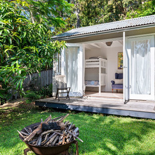 Design ideas for a beach style shed and granny flat in Sydney.