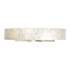 Radius 4-Light Vanity Fixture, Gold Dust and Herringbone