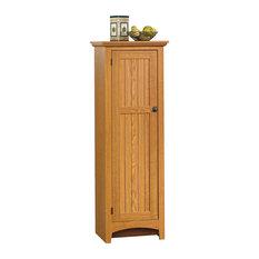 Sauder Summer Home Pantry Carolina Oak Cabinets
