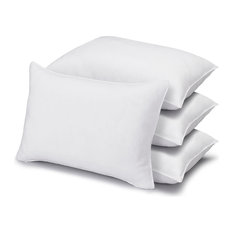 4 Pack Poly-Cotton Superior Down Alt Soft Pillow, Queen Size