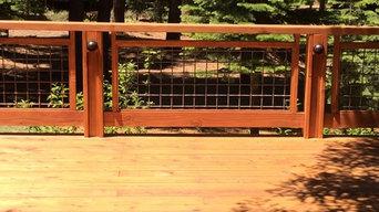 Back Deck at NorthStar, CA