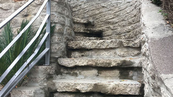 Retaining Wall Staircase