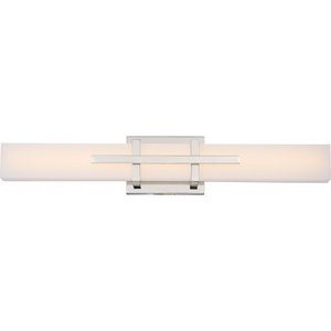 Grill, Double LED Wall Sconce, Polished Nickel Finish
