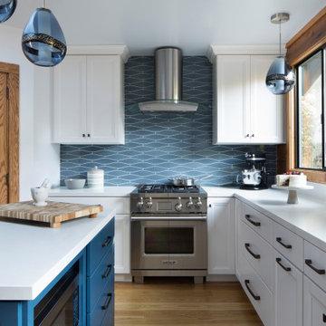 Wood Farmhouse Kitchen | Kimball Starr Interior Design