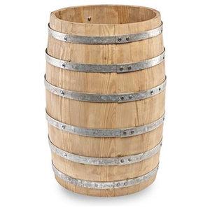 Wooden Display Beer Barrel, Small
