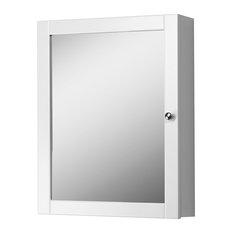 Bay - Hammond Medicine Cabinet With Mirror, White - Medicine Cabinets