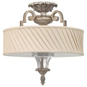 Kingsley Decorative Semi-Flush Ceiling Light