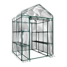 Home-Complete - Walk-In Greenhouse-Indoor Outdoor With 12 Shelves by Home-Complete - Greenhouses
