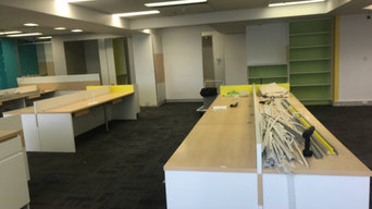Office renovation rubbish removal.