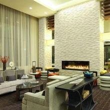 Living Room Designs with Tile