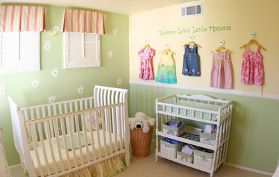 Great Ideas for Girls' Nurseries