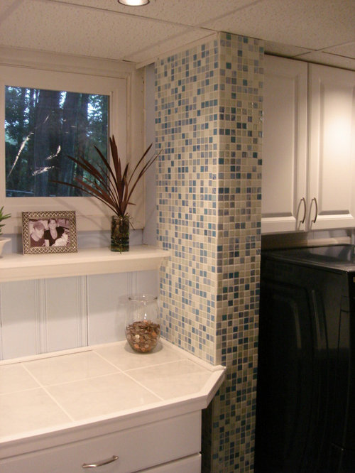 Laundry Room Accent Wall