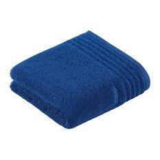 Vienna Ocean Supersoft Hand Towels, Deep Blue, Set of 2