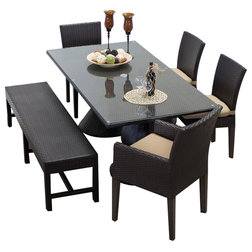 Spectacular Contemporary Outdoor Dining Sets by Design Furnishings
