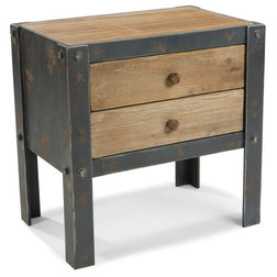 Industrial Side Tables And End Tables by GwG Outlet