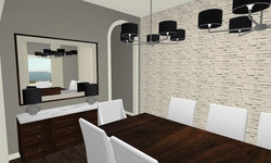 Sherbourne Circle - Dining Room 3D Drawing