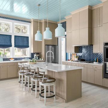 Charleston Driftwood European-style Cabinets