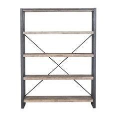 Kylen Industrial Book Shelf Large