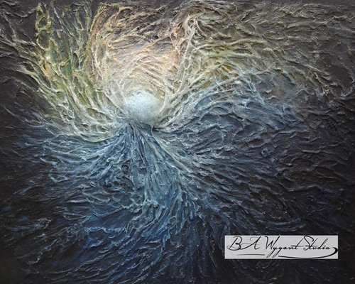 Cosmic Consciousness by BA Wygant - Paintings