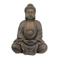 Meditative Buddha of the Grand Temple Medium-Sized Garden Statue