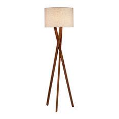 Adesso   Brooklyn Floor Lamp   Floor Lamps