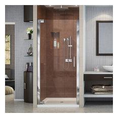 """DreamLine SHDR-4127720-01 Elegance 27 to 29"""" Frameless Shower Door, Chrome"""
