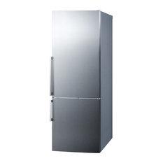 "Summit 28"" Energy Star Bottom Freezer Refrigerator with 16.4 cu. ft. Capacity"