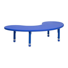 Flash Furniture Blue Activity Table