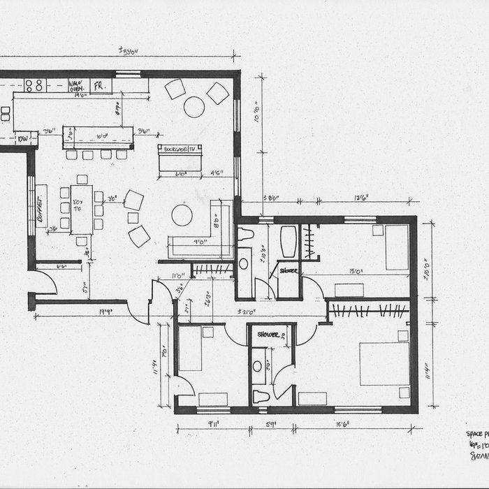 residential space plans