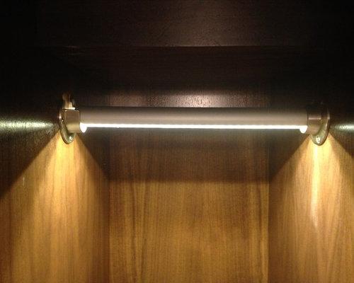 Newport Beach Residence   LED Closet Rod Lighting   Led Bulbs