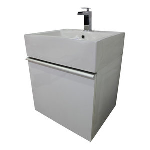 Boutique Space Saver Wall Mounted Floating Vanity