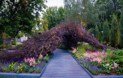 Проект недели: Сад «Декорации Метерлинка» на выставке в Москве