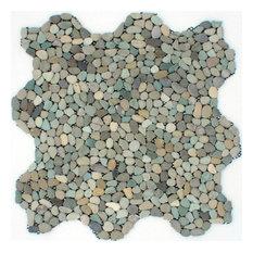Mini Green Pebble Tile