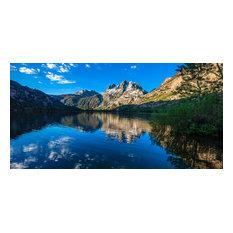 """Silver Lake Dawn, 24""""x12"""""""