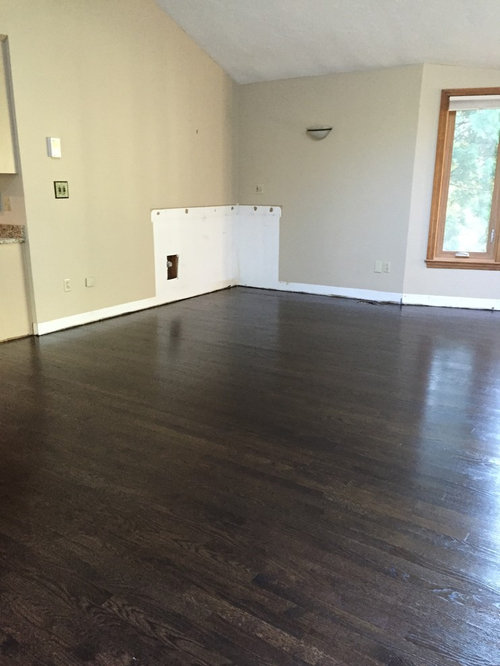 Are dark walnut colored floors out of style?