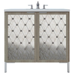 Contemporary Bathroom Vanities And Sink Consoles by Chameleon Concepts